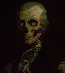 Haunted Mansion Portrait (robbinsej) Tags: disneyland disney haunted creepy mansion hauntedmansion themeparks disneythemeparks