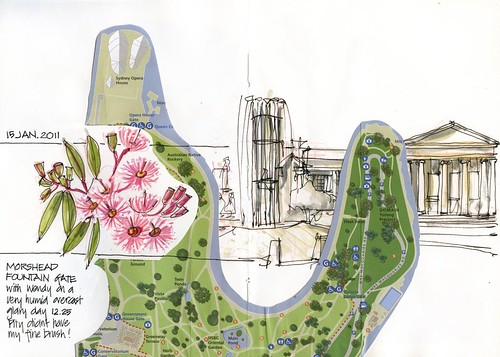 110115 Botanic Gardens 01 Morshead F Gate