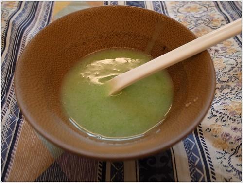 米糊+清江菜泥