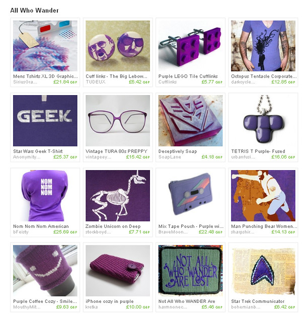 purple geek treasury