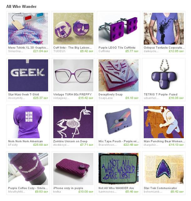 purple geek treasury