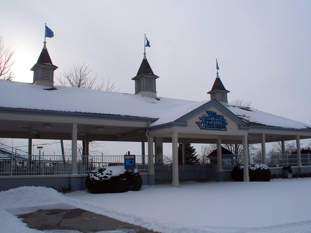Cedar Point - Off-Season Blue Streak