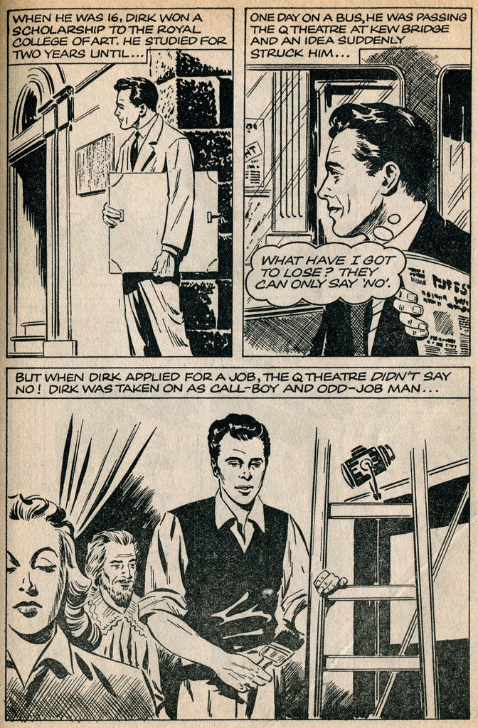 Dirk Bogarde comic 2