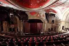"""Twoface"" (Trakylos) Tags: cinema abandoned theatre urbanexploring modernruins"