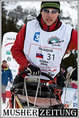 Milos Gonda, La Grande Odyssee Champion 2011