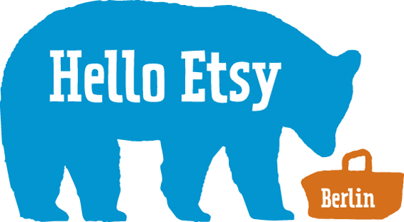 Hello Etsy Berlin bear