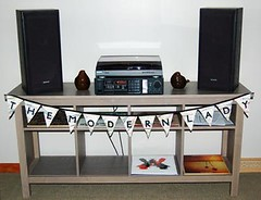 Fabric Bunting with a Custom Phrase