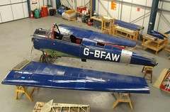 Before Restoration - DeHavilland DHC.1 Chipmunk 22 G-BFAW (Old Buck Shots) Tags: 22 ks chipmunk dehavilland beforerestoration dhc1 egsv gbfaw dehavillanddhc1chipmunk22gbfaw