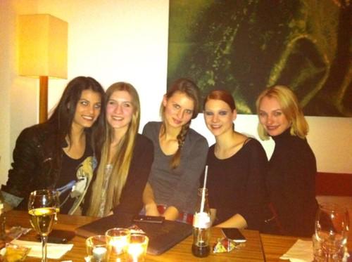 Die Topmodel-Mädels wieder vereint
