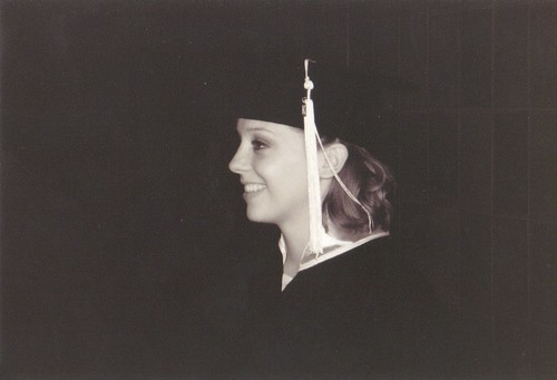 Profile of Ruth, BYU graduation 2003