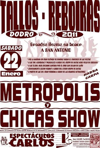 Dodro 2011 - Tallos Reboiras - cartel