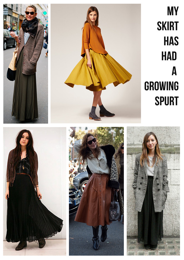 maxi skirt inspiration