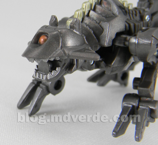 Transformers Ravage HftD Legends - modo robot