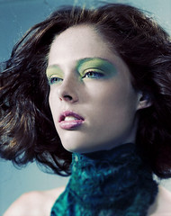 Coco in Green (Curtis Eberhardt) Tags: fashion coco rocha