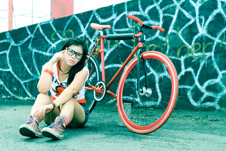 Grace The Fixie Girl #2