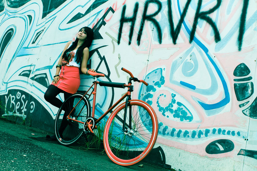Monique The Fixie Girl #3