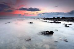 Sweet Coast (CResende) Tags: ocean longexposure sunset seascape color beach portugal rocks sweet alentejo milfontes costavicentina cresende gettyimagesiberiaq2