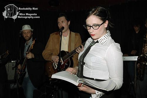 Miss Magenta - Rockabilly Riot - April 30th 2011 - 08