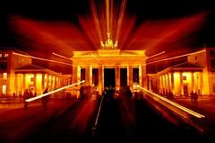 brandenburg tor (katushang) Tags: city winter berlin germany nikon zoom nightscene nikkor 18105 nightlandscape zoomwhileexposure