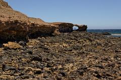 En el punto de mira (stereocallo) Tags: hueco punto mira objetivo piedra costa grancanaria arinaga