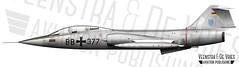 F-104F BB377 WASLW10 (Lieuwe de Vries) Tags: f104f starfighter waslw10 2835064 luftwaffe trainer