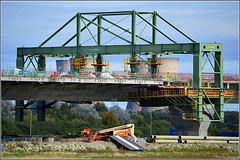 Mersey Gateway Project (Wing Traveller on the Northern Approach) 28th September 2016 (Cassini2008) Tags: merseygatewayproject rubricaengineering rubricabridges merseylink widnes wingtraveller