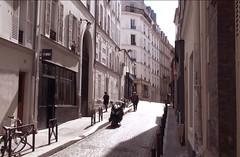 Paris Streets (Az-Jean) Tags: paris france street shadow building oldurban bike vintage