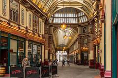 Leadenhall Market [Explore 05/10/16] (Astarotte73) Tags: londra london leadenhallmarket passato past vintage xixcentury city oldalley nostalgia oldtimes sigma35mmf14art