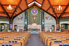 Saint Andrew Catholic Church, Newtown, PA...6O3A7192_tonemappedA (dklaughman) Tags: church interior hdr thebestofhdr photomatix