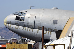Curtiss C-46 Commando at Chino (atg3v) Tags: 4477559 curtiss c46 commando usaf planesoffame chino usa cno kcno c46d