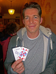 Sean Maguire haunting in Eastbourne and supporting GOSH