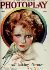 Clara Bow : Photoplay April 1929 (CharmaineZoe) Tags: 1920s vintage magazine advertising ad advertisement nostalgia advert product photoplay twenties filmmagazine