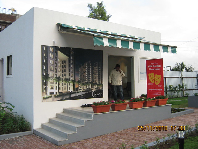 "Site office of ""Kushal Nivriti"" 2 BHK -3 BHK Flats near Jyoti Restaurant, Kondhwa, Pune 411 048"
