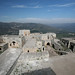 View from the top of Krak des Chevaliers