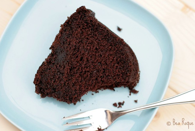 Darkest Chocolate Cake ever (Corte)