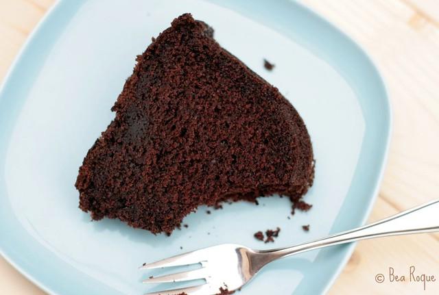 Darkest Chocolate Cake ever (Corte)