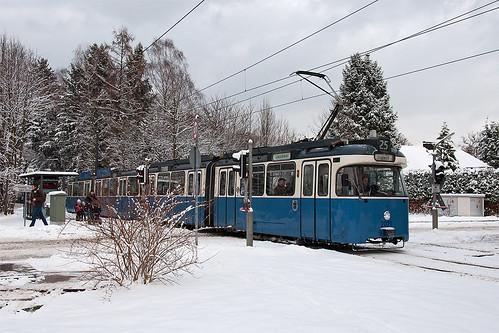 In wenigen Minuten erreicht P-Wagen 2021 den Derbolfinger Platz