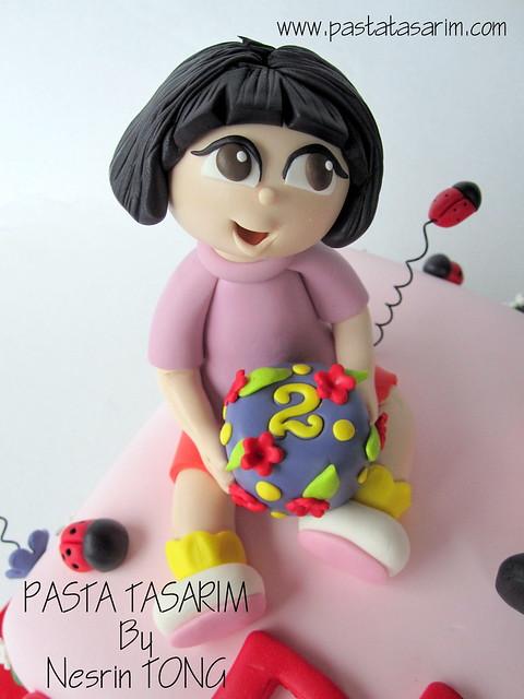 DURU 2ND BIRTHDAY CAKE -dora