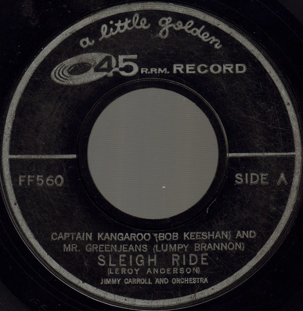 SLEIGH RIDE by Captain Kangaroo and Mr. Greenjeans
