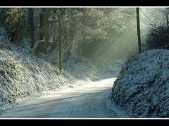 Dorset winter mood..... (Levels Nature) Tags: road uk light england sunlight snow nature fog lane dorset rays hooke topshots natureselegantshots flickrsportal