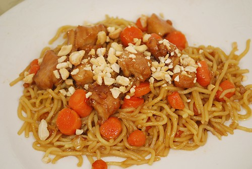 Chicken Yakisoba Noodles