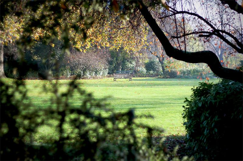 London - secret garden