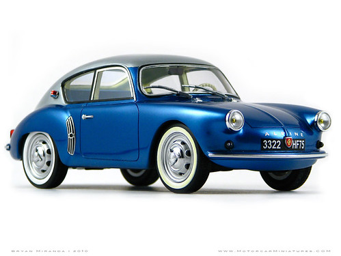 Alpine 1958 A106 Mille Miles - Blue and Gray