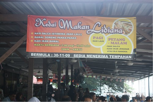 Tanjung Bungah Masjid Terapung Nasi Melayu - Lidiana