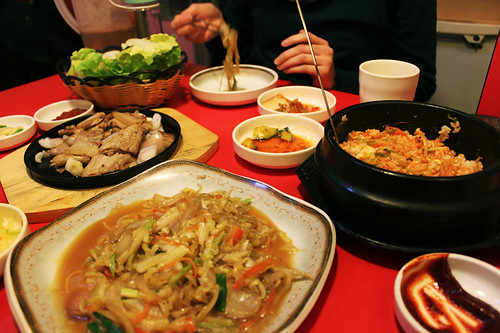 Korean food, Nanjing, day 33