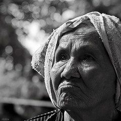The future is not far (-clicking-) Tags: portrait faces visage woman lady oldwomen oldlady eld eldly old oldage aged age oldtime time texture character bokeh dof bw monochrome blackandwhite nocolors grey light lighting contrast eyes see look looking dream dreaming future country mother oldmother chndung tuigi square squareformat lovely motherhood sad sadness vietnam asia vietnamesemothers bestportraitsaoi