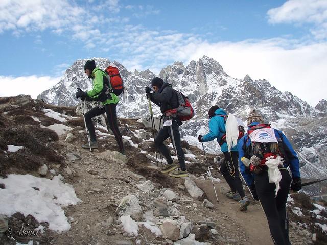 Solukhumbu Trail 2010 Étape 9 Gokyo - Cho La Pass