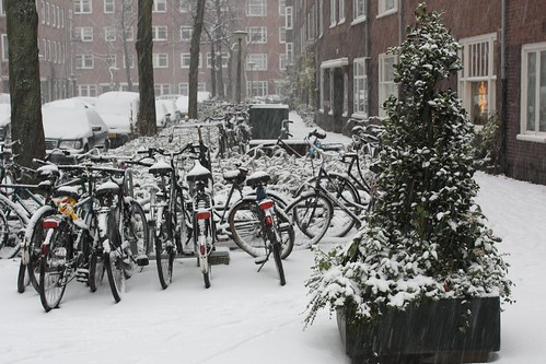 Amsterdam snow - 2009