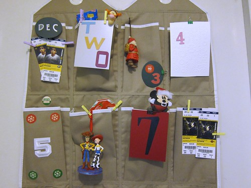 DIY Advent Calendar Day 1-8