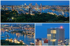 Wereldhavendagen 2013 / Panorama / Rotterdam / Euromast (zzapback) Tags: world bridge blue haven holland dutch night port river photography 50mm boat rotterdam nikon blauw ship fotografie nacht f14 neworleans nederland enjoy montevideo brug avond maas artemis kopvanzuid hotelnewyork cutter erasmusbrug zuidholland dredger rivier willemskade kvz hetpark wereldhavendagen wilhelminapier 2013 wereldhaven d700 vanoord cutterzuiger zzapback zzapbacknl robdevoogd wereldhavendage whd13